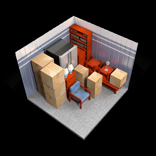 10 x 10 storage unit