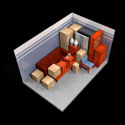 10 x 15 storage unit